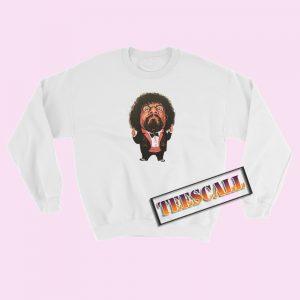 80s Vintage Captain Lou Albano WWF Sweatshirt