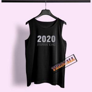 2020 Written By Stephen King Tank Top