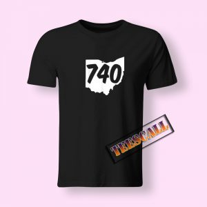740 Area Code Ohio T-Shirt