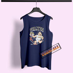 90s Pittsburgh Pirates Fred Flintstone Tank Top