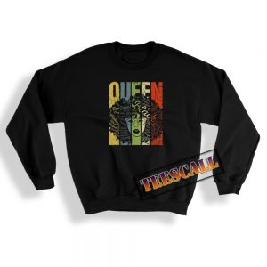 African American For Educated Strong Black Queen Sweatshirt