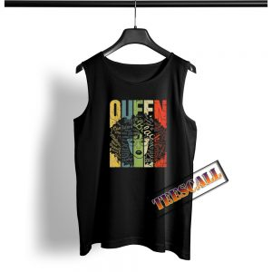 African American For Educated Strong Black Queen Tank Top