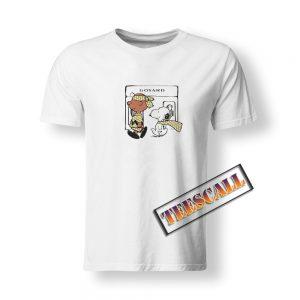 Designer Rag Go Snoopy Goyard T-Shirt S-3XL