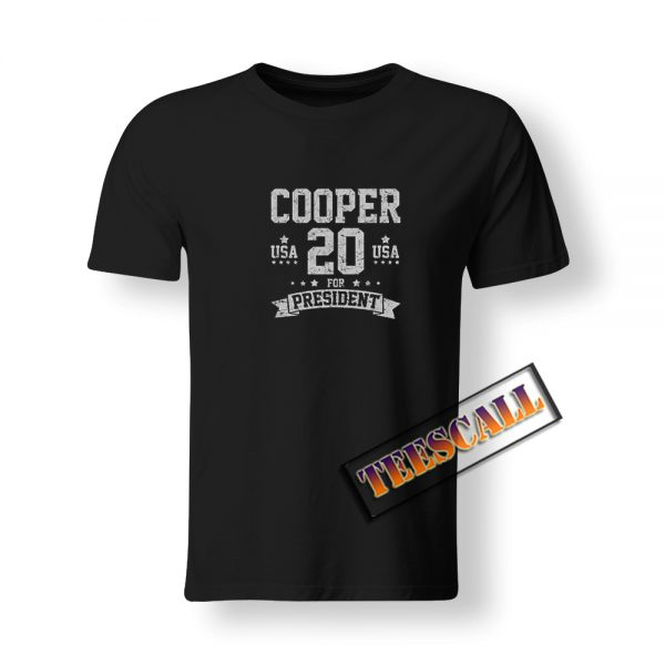 Roy Cooper For President USA 2020 T-Shirt S-3XL