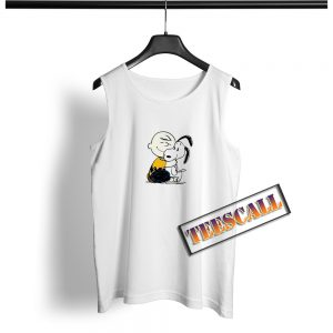 Snoopy and Charlie Soulmate Tank Top S-3XL